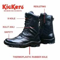 Jual Sepatu Delta Boots Kickers Safety - Sepatu PDL Kickers - TNI Security Murah