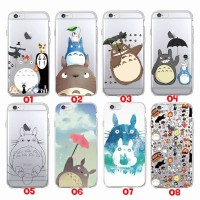 Apple iPhone 6 6S 7 7 Plus Soft Tpu Case Totoro Studio Ghibli
