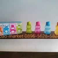 Jual Tupperware eco bottle kids ( 1 set isi 4 ) Murah