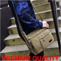 Jual Tas Selempang / Sling / Shoulder Kanvas Bag Pria / Cowok Import Murah