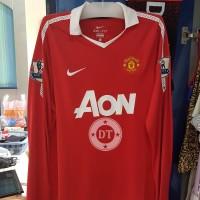 Manchester United 2010/2011 Long Sleeve Jersey Original