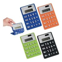 Kalkulator Silikon Unik - Dual Power Silicone Calculator