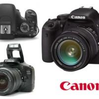 Jual Kamera DSLR Canon EOS 550D Lensa EF-S 18-55mm f/3.5.6 IS Hot Sale