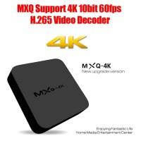 Jual Android TV Box Murah SMART MXQ 4K Resolusi RK3229 1G/8G H.264/H.265 Murah