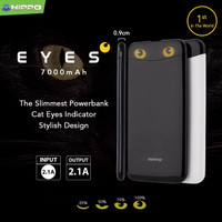 Jual TRAND Hippo Power Bank Eyes 7000 mAh Slim and Stylish  -LPS189 Murah