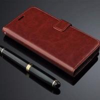 Alcatel One Touch Flash Plus Flip Cover Retro Leather Wallet case