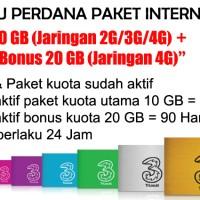Kartu Perdana Paket Internet 3 - 10 GB