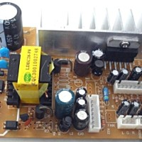 Power amplifier ampli stereo TDA2005 AX80Watt pakai AC220V PLN