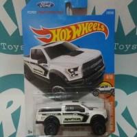 Hotwheels - '17 Ford F-150 Raptor - White