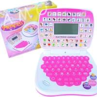 Laptop Kecil Anak Mini Princess Pink