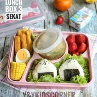 Jual bento / kids / Kotak Makan / rantang / lunch box / kotak makan set Murah