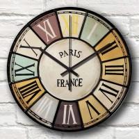 Jual Jam Dinding Vintage Number Paris France - Unik Artistik - Kool Katz  Murah
