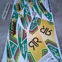 Striping Sticker Variasi Kawasaki Ninja RR New Rockstar -1