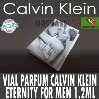 VIAL PARFUM CALVIN KLEIN ETERNITY FOR MEN 1,2ML
