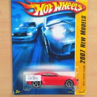 HOT WHEELS CHEVY CAMARO CONCEPT RED NEW MODEL 2007 #002/180