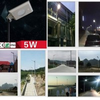 Lampu Jalan 5W Sensor PIR 48 LED Solar Power