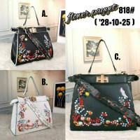 Fashion Flowers payyet Z818 | tas import | tas branded | tas wanita