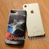iPhone 7 Captain America Emboss Soft Case silicon cover