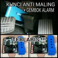 Terlaris Gembok Mobil Anti Maling + Alarm. Mobil Aman di Parkir.