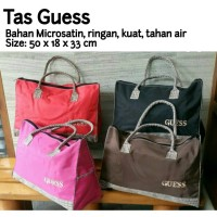 Jual TERMURAH Tas Guess Big Size Fashion Travel Bag Murah