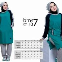Believe Muslimah Sport BMS 07 XXL - Baju Olahraga Muslimah
