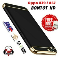 Jual NEW HARDCASE BUMPER 3 IN 1 BACK CASE COVER IRING FOR HP OPPO A39 / A57 Murah