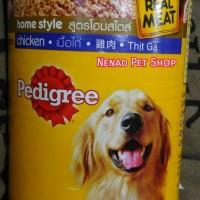 Makanan Anjing Kaleng Pedigree Real Meat Home Style 400gr/Dog Food