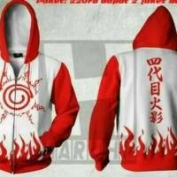 harga Jaket Anime Yondaime Putih Merah Tokopedia.com