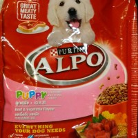 Makanan Kering Anak Anjing Alpo 1,3kg/Dry Food for Puppy 1-24Months