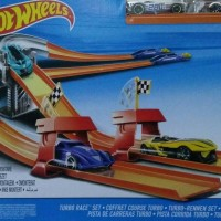 Hot wheels Turbo Race track set