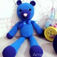 Boneka Rajut Beruang/Amigurumi/Boneka beruang