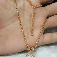 kalung xuping hellokitty berlian imitasi lapis emas