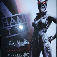 Jual Play arts Kai Batman Arkham City no.2 CATWOMAN Playarts Murah