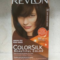 REVLON CAT RAMBUT 32 Dark Mahogany Brown