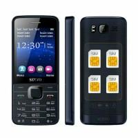 harga Handphone 4 Sim Card Four Sim Cell Phone Gsm/wcdma 2.8