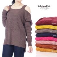 Jual Sabrina knit premium BEST SELLER | SWATER RAJUT | BAJU RAJUT | RAJUTAN Murah