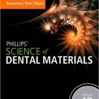 Phillips' Science of Dental Materials: 12ed