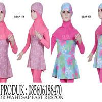 Baju Renang Muslim Anak SBAP 174-175 Umur 10-12 Tahun