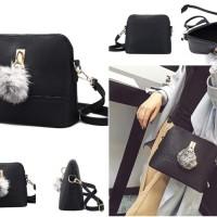 tas satchels messenger bag slempang hitam kulit ferragamo bonia vincci