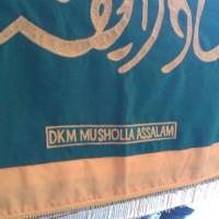 Penutup Keranda plus Nama Mesjid/DKM+