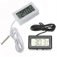 Digital Thermometer with Probe for Aquarium Length 1m / termometer air