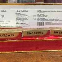 Sha Yao Wan 1 Dus Kecil - Obat Masuk Angin Perut Kembung Mual