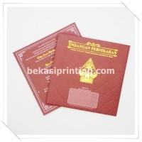 Undangan Pernikahan Single Hardcover Akasia - Deby & Yon - Bekasi