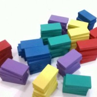 Paket Merdeka Woody Domino Block - Mainan Kayu Untuk Anak Kreatif