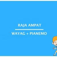 Paket Open Trip Wisata Raja Ampat Wayag Pianemo
