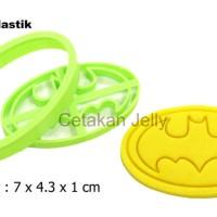 Cetakan Cookies Batman Cookie Cutter