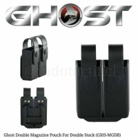Ghost Magazine Pouches For Double Stack (GI03-MGDB)