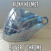 harga Kaca Helm, Visor Silver Ink Cx22, Cx390, Cx800, Kyt Romeo, Kyt Forza Tokopedia.com