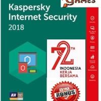 [PROMO MERDEKA!!] Kaspersky Internet Security (KIS) 2018 - 1PC