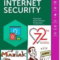 harga [promo 17-an] Kaspersky Internet Security (kis) 2018 - 3pc Tokopedia.com